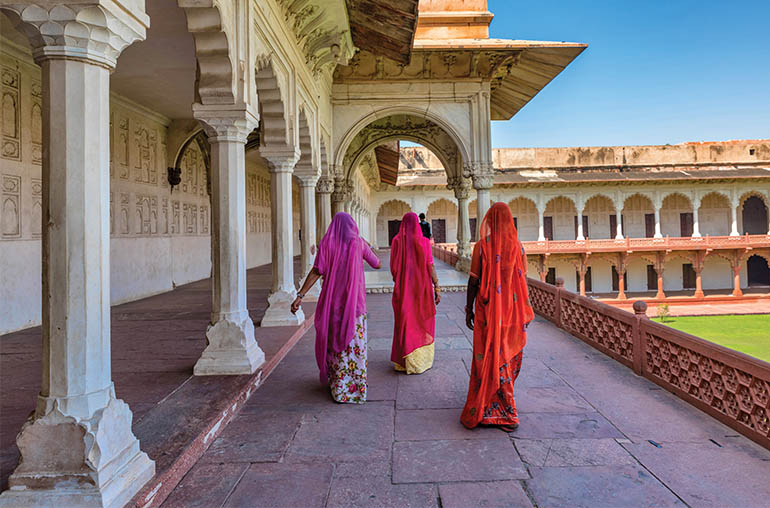 Red fort agra India India tours and travel specialists