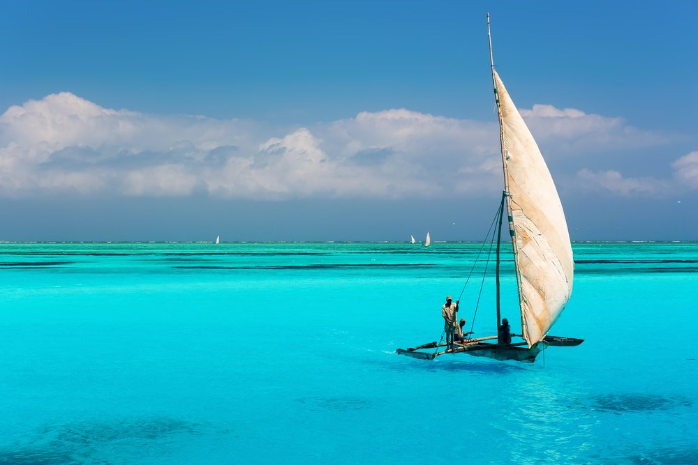 Zanzibar  Beach Africa African Travel Specialists White sand beaches Honeymoon getaway