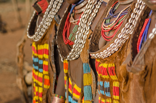 Taste of Ethiopia Womens dresses Hamer Tribe Africa African Travel Specialists