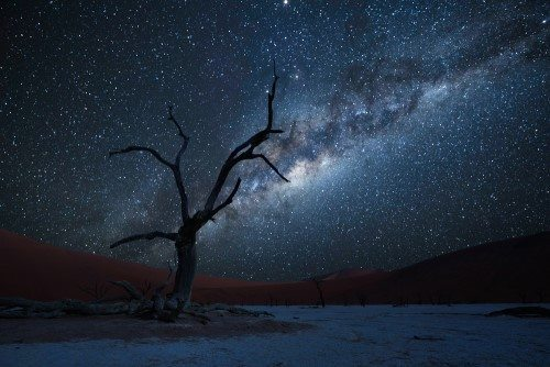 Milky Way Damaraland Namibia African Travel Specialists