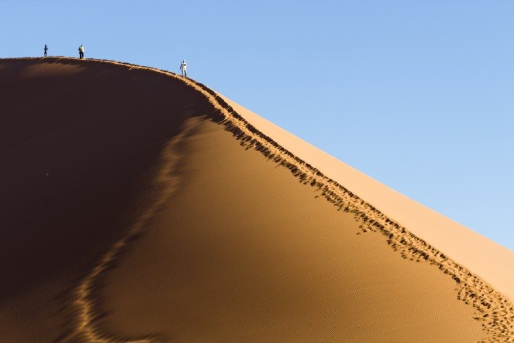 Sand Dunes Sossusvlei Namibia African Travel Specialists