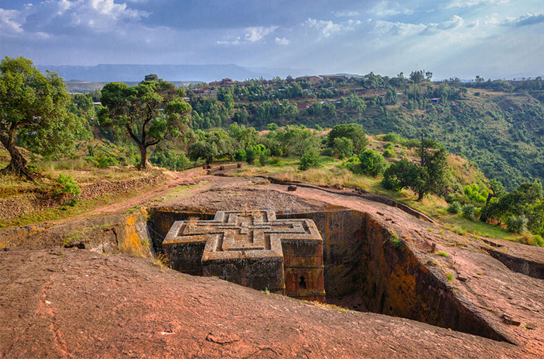 St Georges Church Ethiopia African Travel Specialists