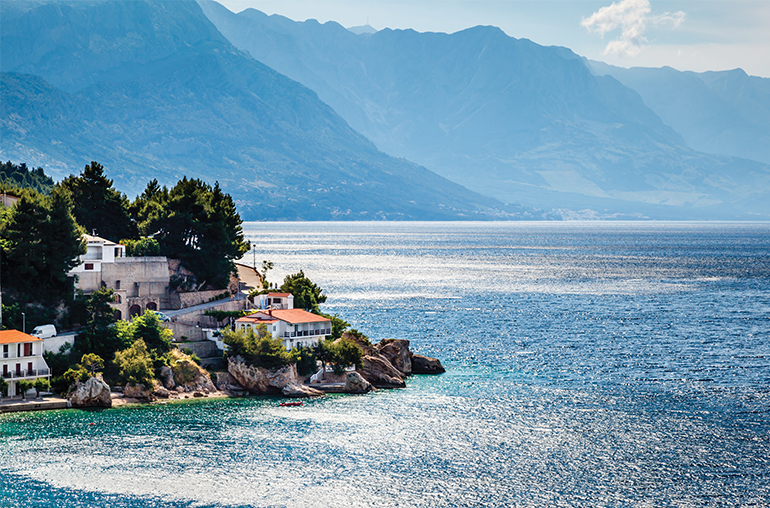 Adriatic Sea Near Split Croatia Travel Specialists