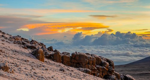 Mt Kilimanjaro African Sunrise Tanzania Africa Adventure African Travel Specialists