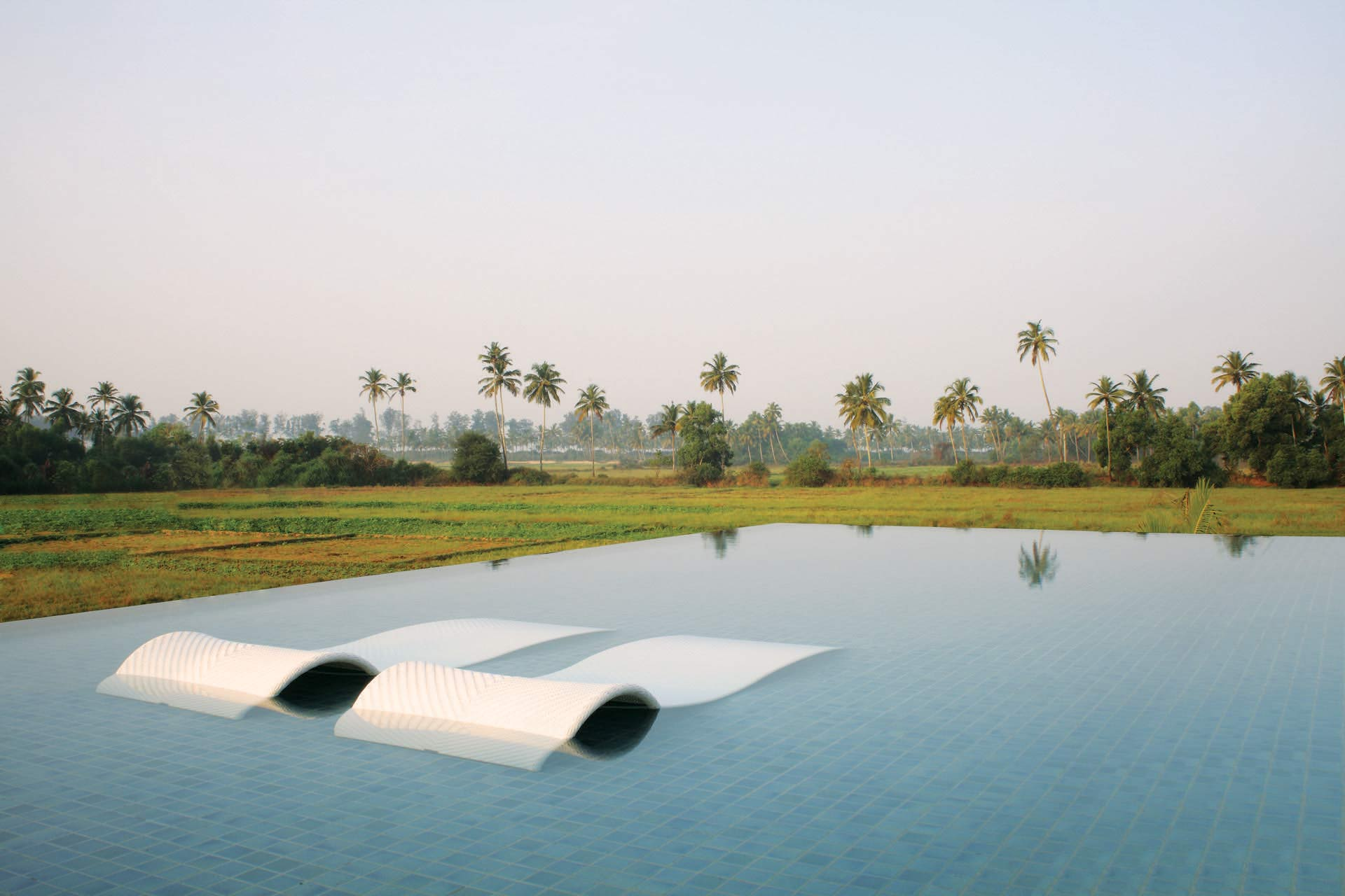 Alila Diwa Goa Resort Pool India Luxury Accommodation India Tours and Travel Specialists India
