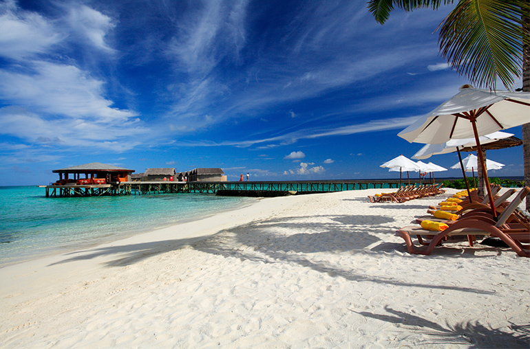 Centara Ras Fushi Resort & Spa beach maldives