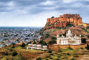 Blue city  jodhpur  rajasthan mehrangarh fort