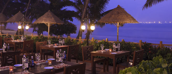 Cidade de Goa Outside dining India 5 star accommodation India Tours and Travel Specialists Goa