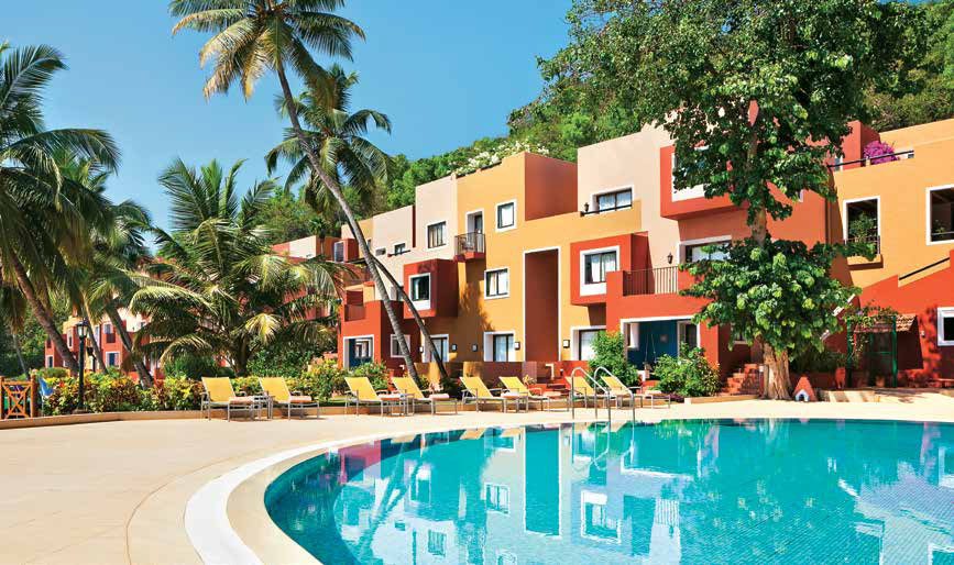 Cidade de Goa Resort Pool India 5 star accommodation India Tours and Travel Specialists Goa