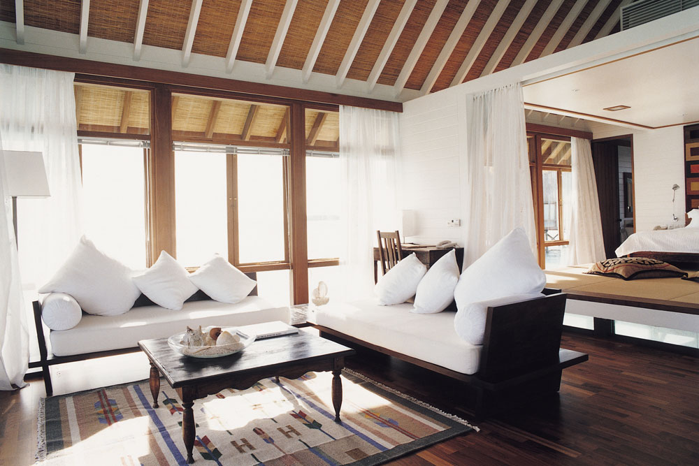 Como Cocoa Island Suite Interior Honeymoon destination Maldives India Tours and Travel Specialists