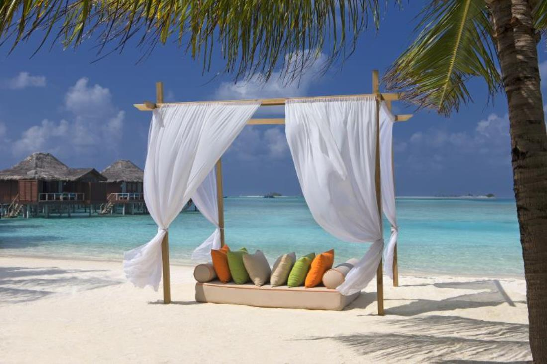 Anantara Veli Resort Maldives Beachlife Honeymoon Destination India Tours and Travel Specialists Maldives