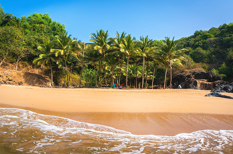 Gokarna Beach Southern India wellness India India Tours and Travel Specialists