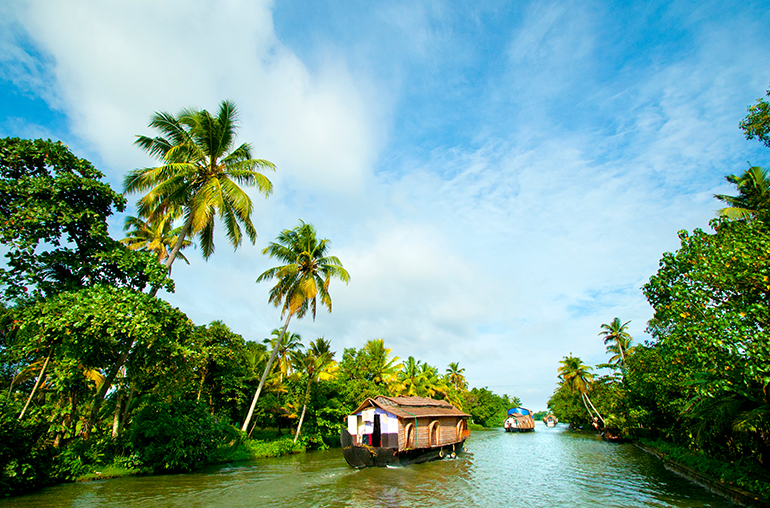 Houseboats of Kerala Kettuvallam India Tours and Travel Specialists
