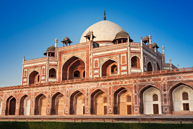 Humayuns Tomb New Delhi India Tours and Travel Specialists India Taste of the Golden Triangle