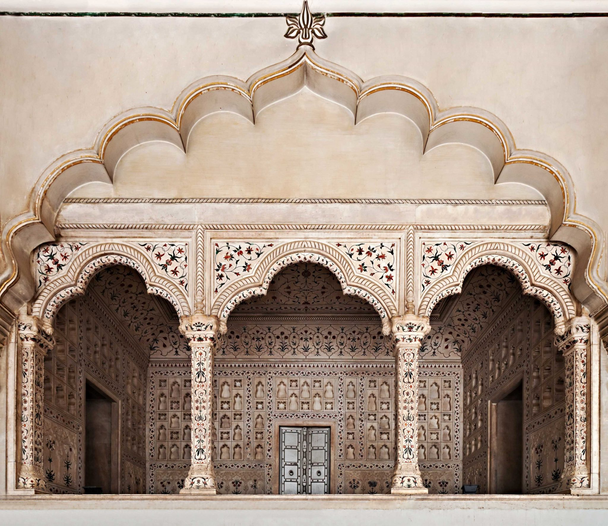 Arches Red Fort Agra India Tours and Travel Specialists India Best of Rajasthan
