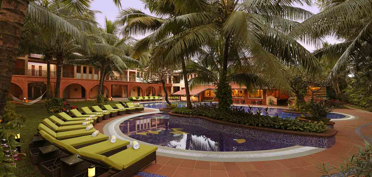 The Lemon Tree Amarante Beach Resort Resort Pool Luxury India Accommodation India Tours and Travel Specialists