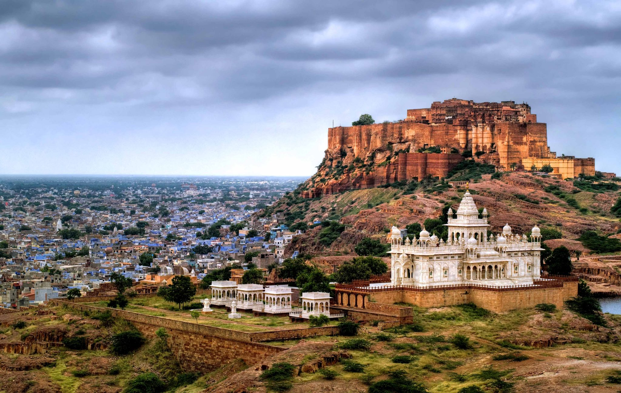 Mehrangarh Fort Jaswant Thada Jodhpur India India Tours and Travel Specialists Best of Rajasthan