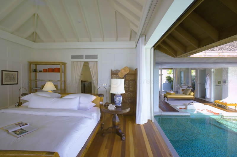Naladhu Maldives Naladhu Maldives Room interior Honeymoon destination India Tours and Travel Specialists Maldives