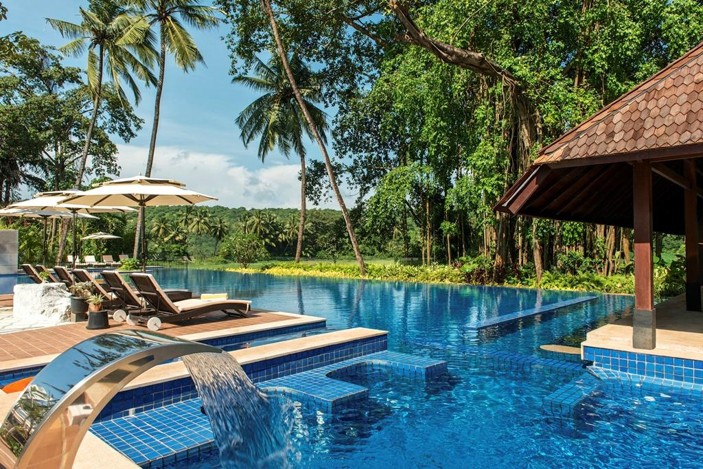 Novotel Goa Resort Pool India Tours and Travel Specialists India Luxury Accommodation