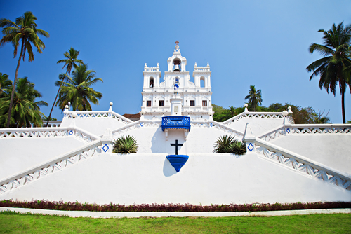 Our lady of immaculate Goa India Tours and Travel Specialsts India