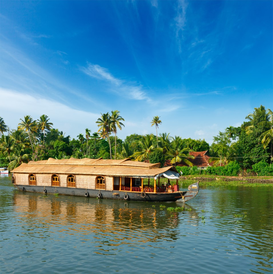 Houseboats of Kerala Kettuvallum Houseboats India Tours and Travel Specialists India Luxury Houseboats