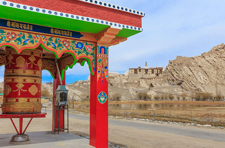Shey Palace  Leh India Tours and Travel Specialists