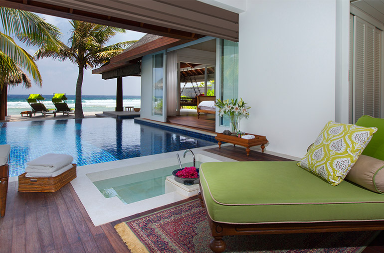 Naladhu Maldives ocean house Honeymoon destination India Tours and Travel Specialists Maldives