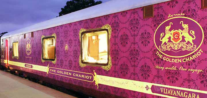 The Golden Chariot The pride of the south Luxury Train Travel India Tours and Travel Specialists India Trains