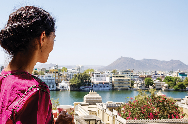 udaipur  view  lake