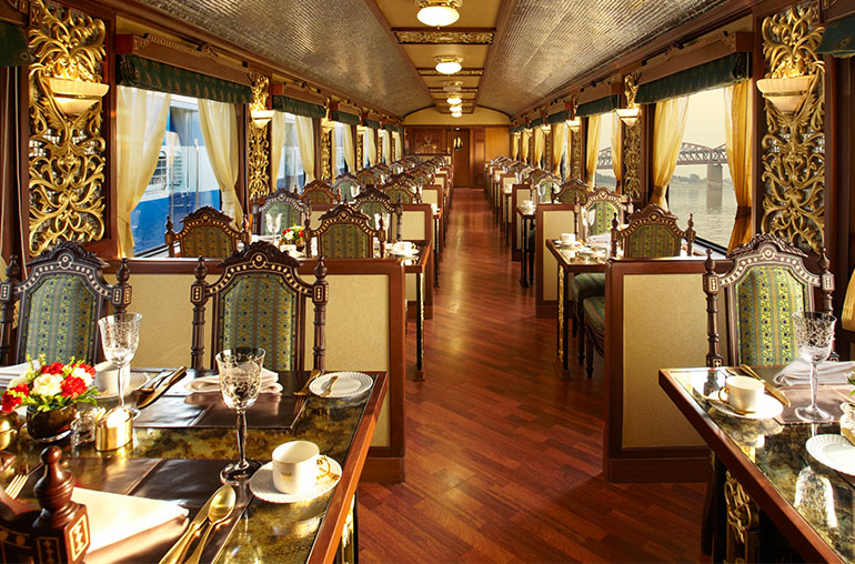 Maharaja Express Luxury train travel Train travel India India Tours and Travel Specialists India The Heritage of India