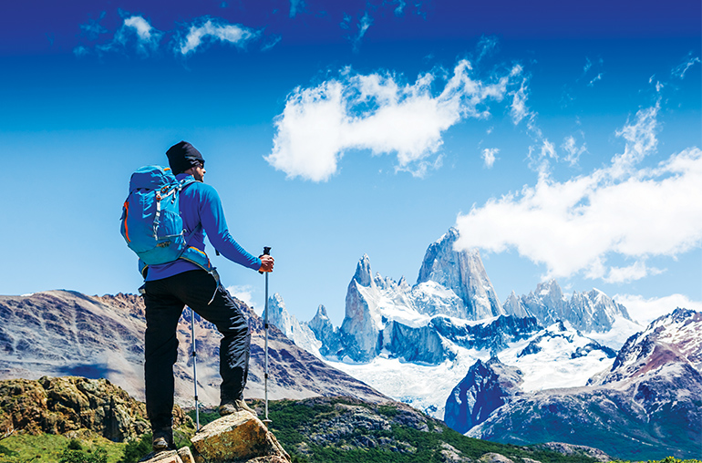 W Trek Torres del Paine National Park Patagonia Chile South America