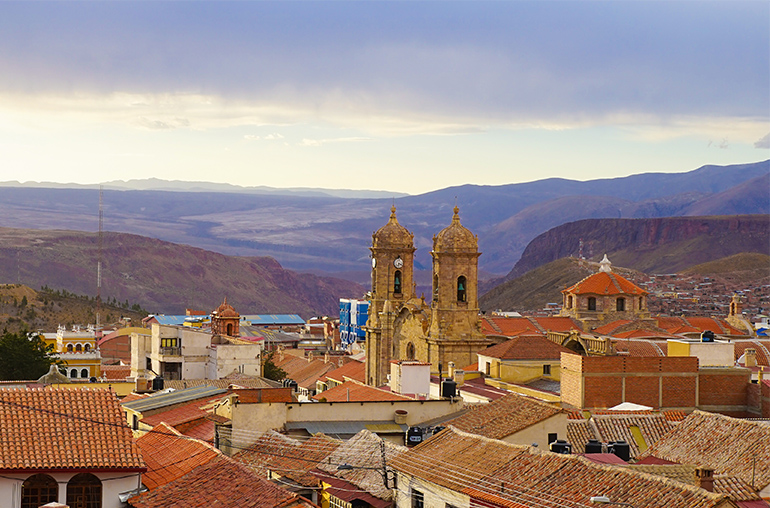 City of Potosi - UNESCO World Heritage Site  South America South American Travel Specialists