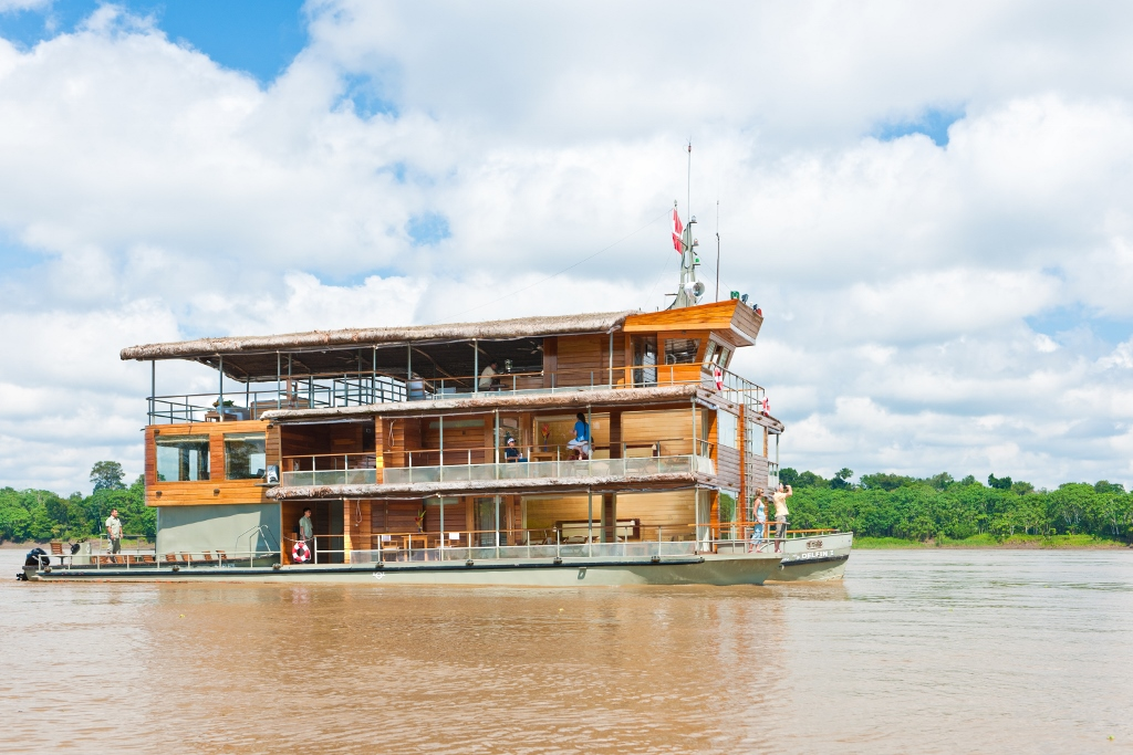M/V Delfin I Amazon Cruising Luxury Amazon Cruises Peru South America South American Travel Specialists