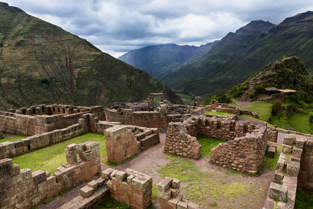 Inca ruins Pisac Sacred Valley South America South American Travel Specialists
