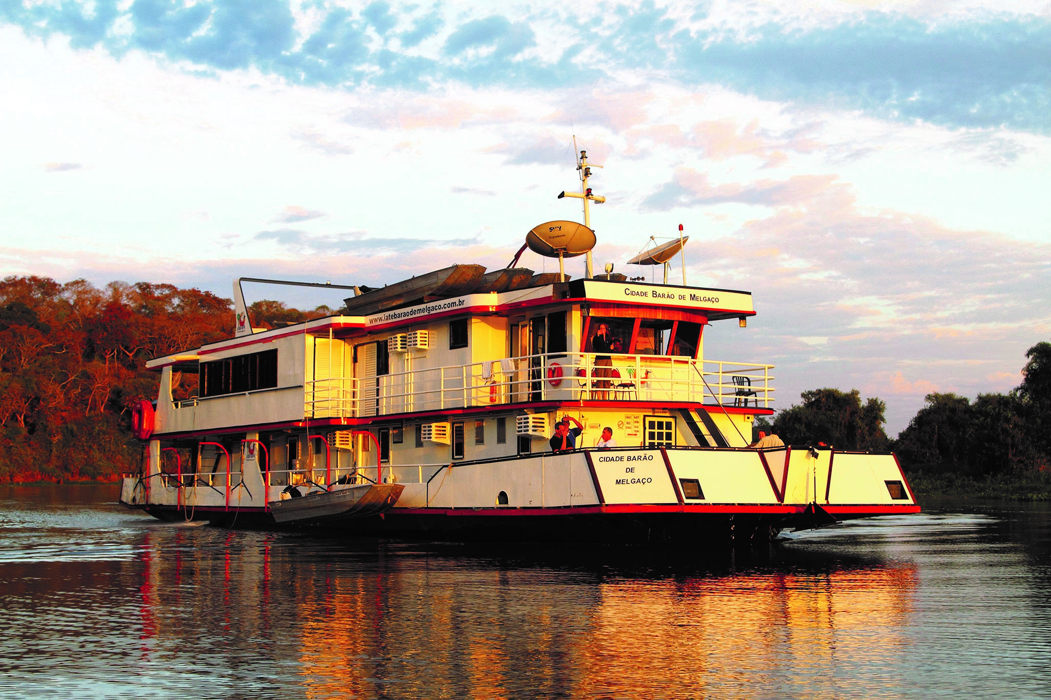 Jaguar Houseboat Experience Amazon Cruise Negro River Amazon River Brazil South America South American Travel Specialists