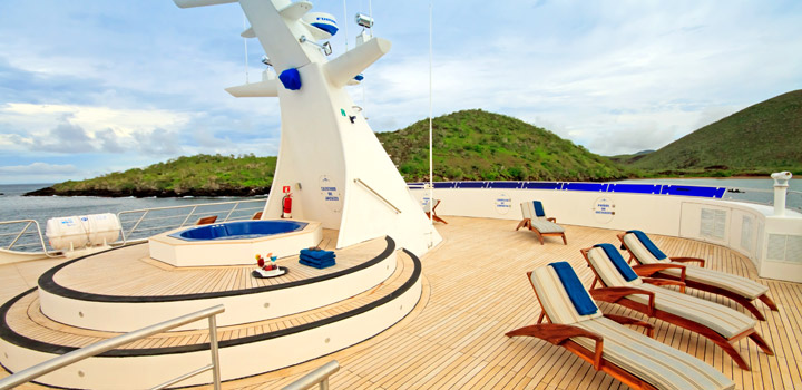 M/C Ocean spray Luxury cruising Catamaran Cruising Galapagos Islands South America South American Travel Specialists