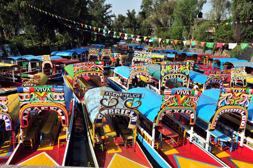 Xochimilcos Floating Gardens Mexico City Mexico Highlights South America South American Travel Specialists