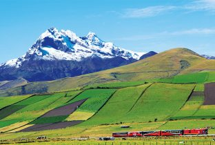 Chimborazo Tren Crucero Ecuador Andean Highlands South America South American Travel Specialists