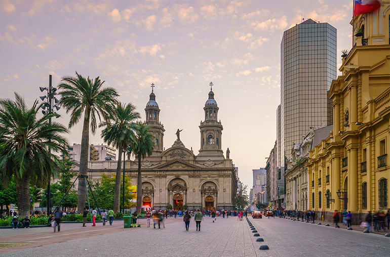 Plaza de las Armas square in Santiago, Chile  South America South American Travel Specialists
