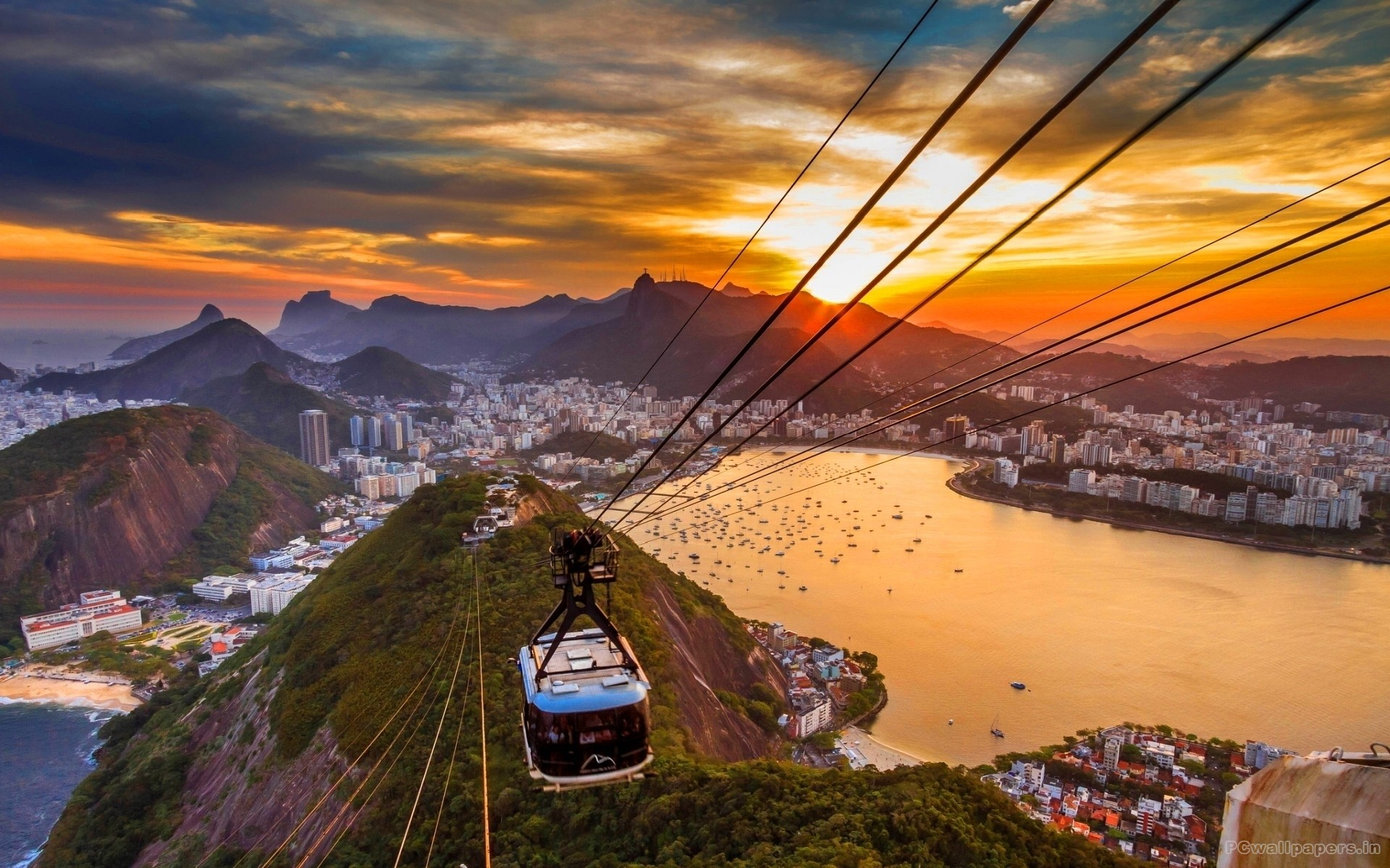 Rio de Janeiro Highlights of South America South American Travel Specialists Sugarloaf Mountain Guanabara Bay