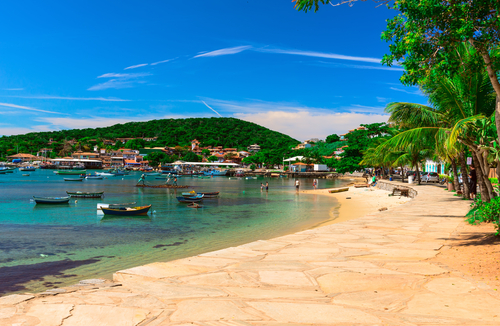 Seafront in Buzios Buzios Brazil South America South American Travel Specialists