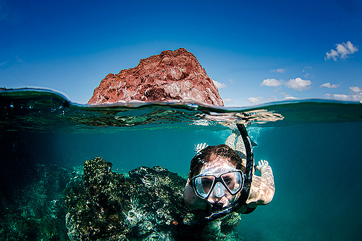 Snorkeling Tuff Cone Ecuador Galapagos Islands Galapagos Luxury Cruise South America South American Travel Specialists