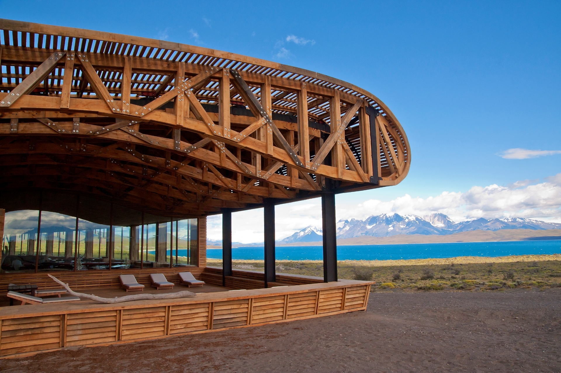 Tierra Patagonia Hotel and Spa Patagonia CHile South America Adventure South America