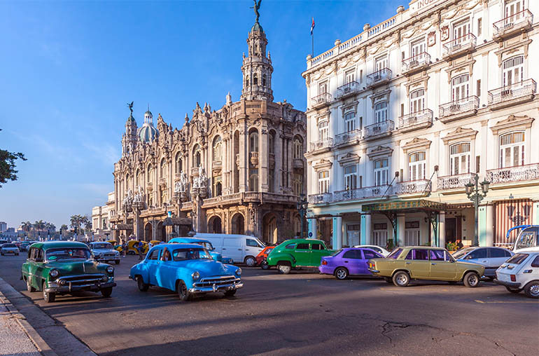 Cuba havana cars South America South American Travel Specialists