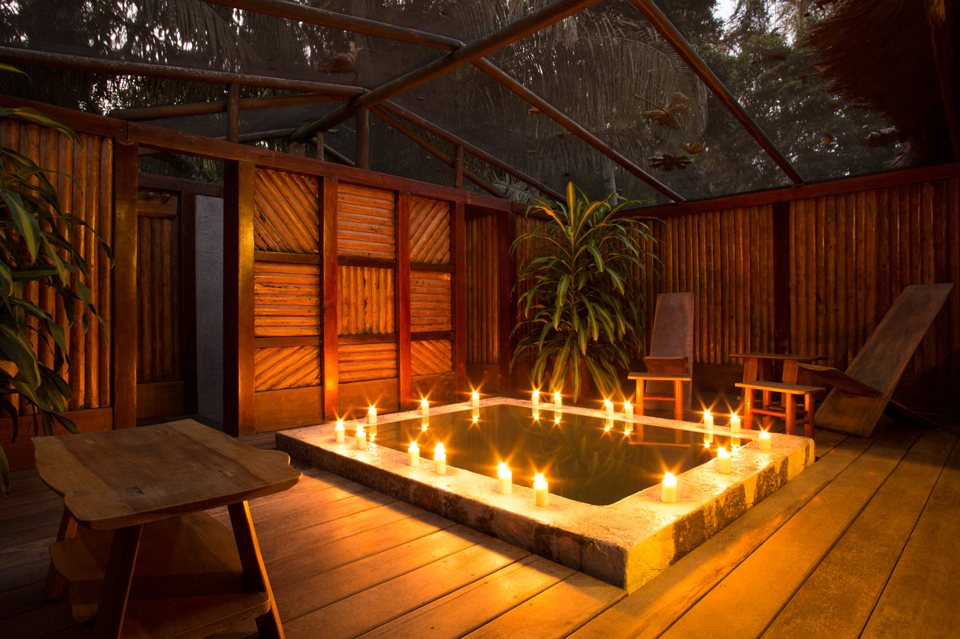 Inkaterra Reserva Amazonica Suite Accommodation Jungle Lodges Peruvian Amazon Peru South America South American Travel Specialists