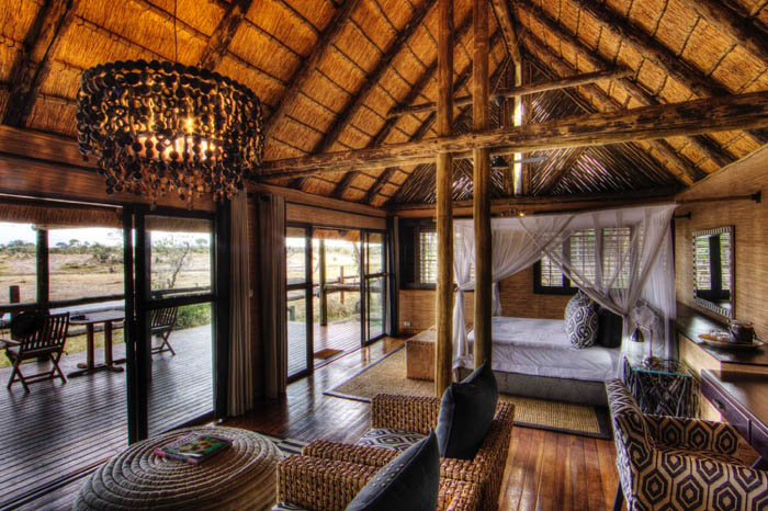 Experience a Botswana Luxury Fly-in Safari, with The African Travel Specialists, while staying at Savute Safari Lodge.