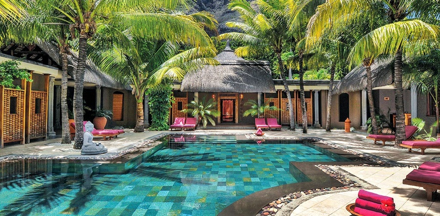 Mauritius Accommodation Dinarobin Hotel Golf & Spa  Beach accommodation African Travel Specialists Africa
