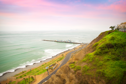 Lima  Beach Sunset Peru South America South American Travel Specialists