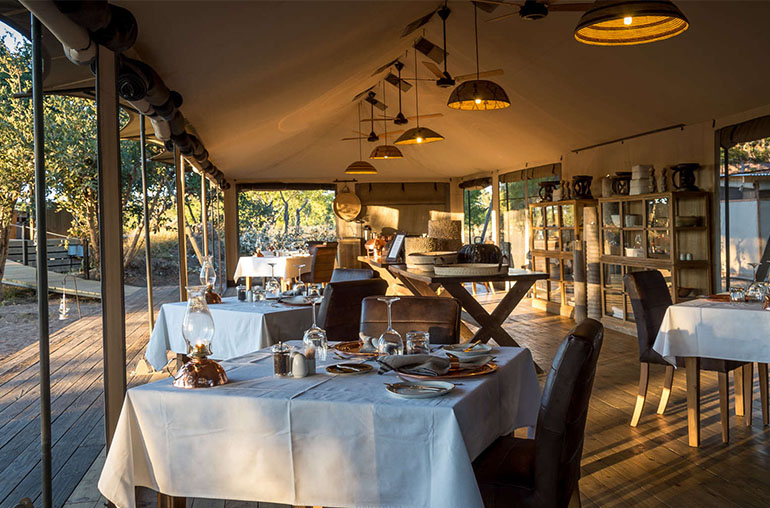 Hwange National Park Accommodation Little Makalolo Camp Wildlife & Safari  African Travel Specialists  Africa