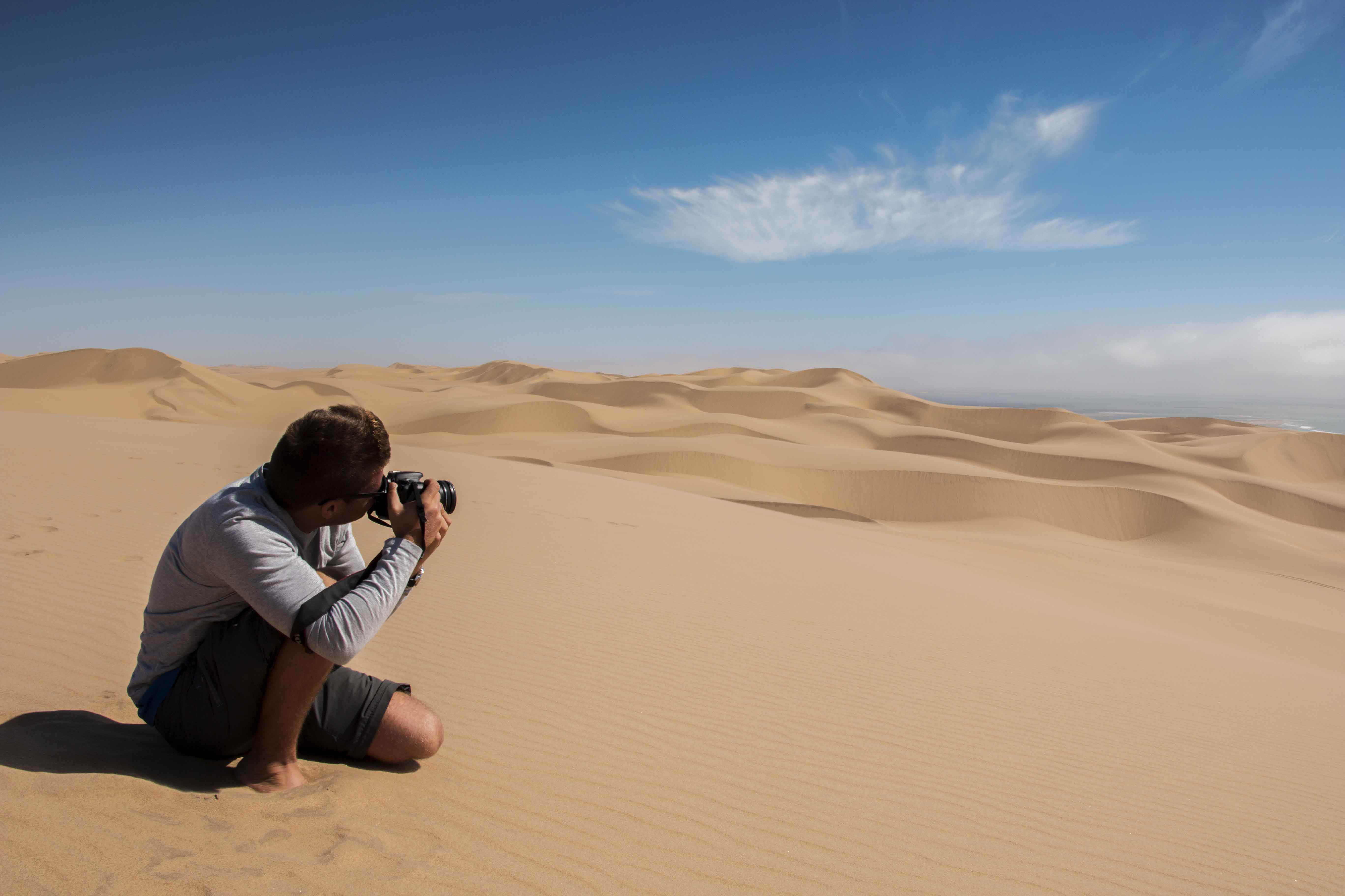 Sossusvlei Adventure Namibia Namib Desert sand dunes photographer African Safari African Travel Specialists Africa